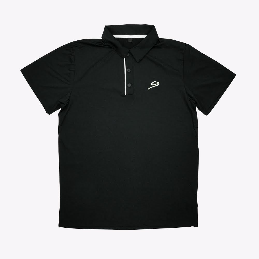 STORYi Polo Golf Shirt - Black