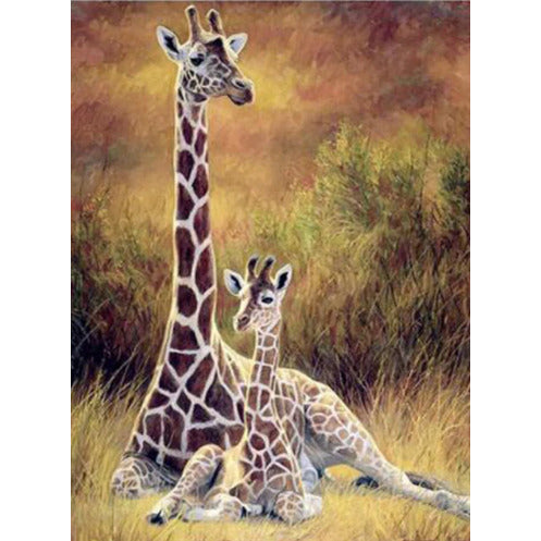 Giraffe | Diamond Painting