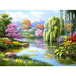 Natuur Landschap | Diamond Painting