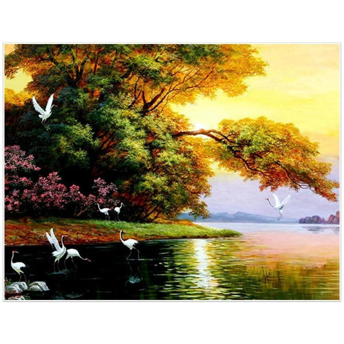 Natuur Vogels | Diamond Painting