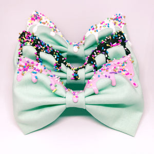 Melty Bow - Mint Green