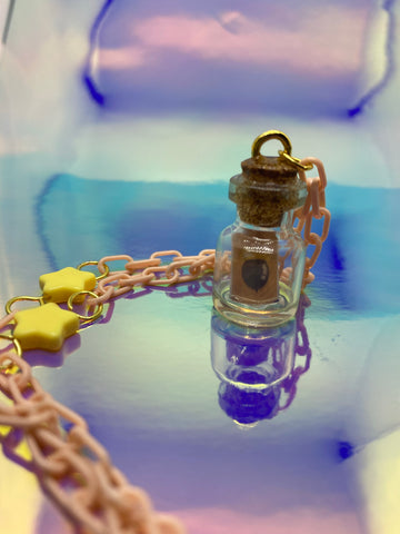 DIY Message Bottle Necklace