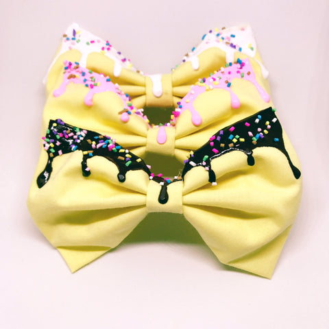 Melty Bow - Lemon Yellow