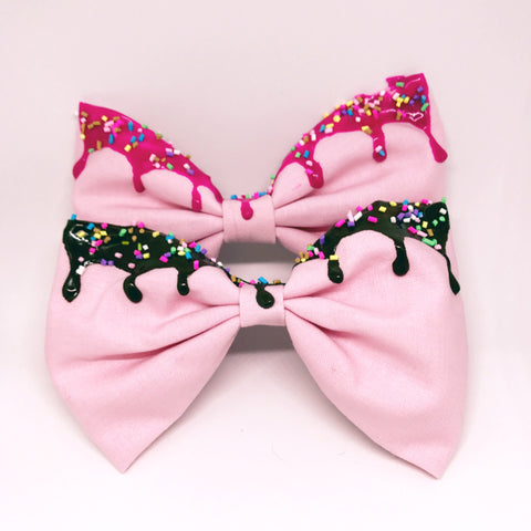 Melty Bow - Strawberry Pink