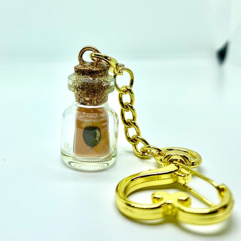 DIY Message Bottle Keychain