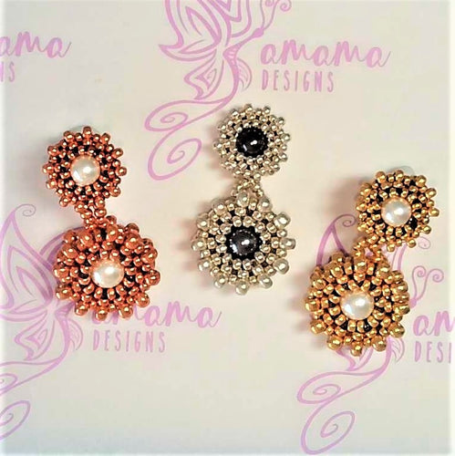 Karah Earrings Pattern