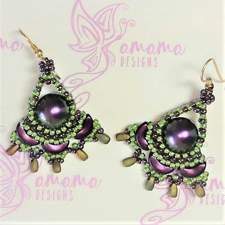 Shanda Earrings Instructions