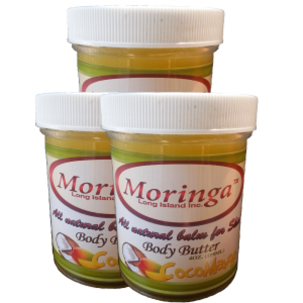 Moringa Coco-Mango Body Butter 4oz