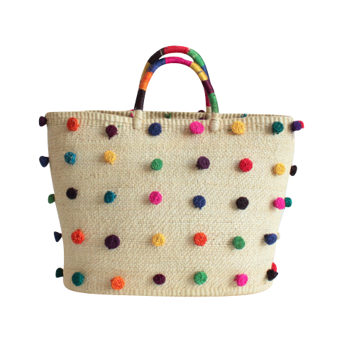The Pom Pom Tote Bag