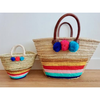 Mum And Daughter Rainbow Basket Set