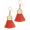 Ami Pink Tassel Earrings