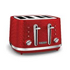 Morphy Richards Vector Red 4 Slice Toaster