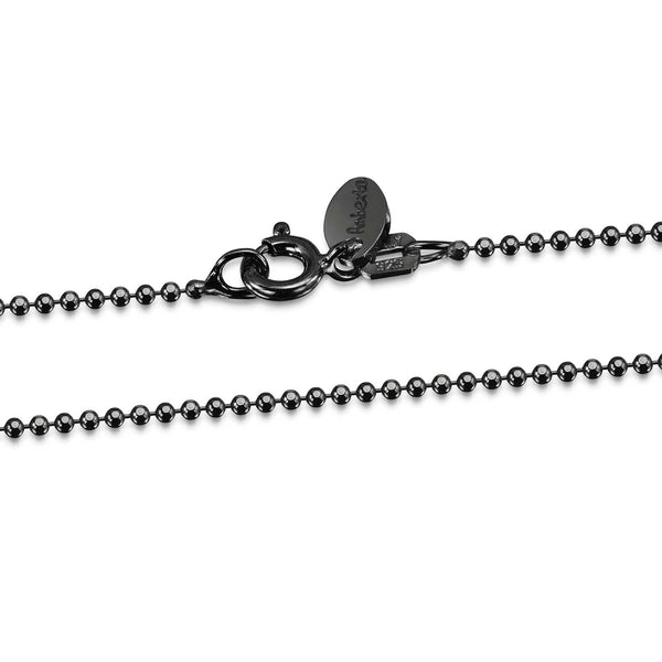 Silver 1.2 mm Ball Chain Necklace for Men