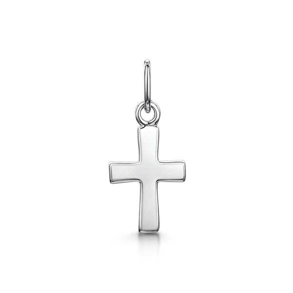 Amberta Silver Children Small Cross Pendant