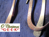 Sparkly Pewter Pi Ornament