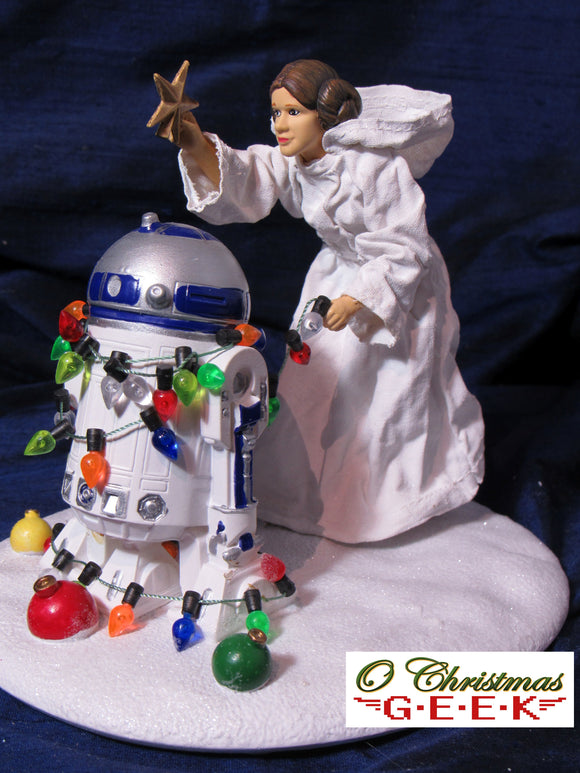 Star Wars Princess Leia & R2-D2 Fabriche Tablepiece