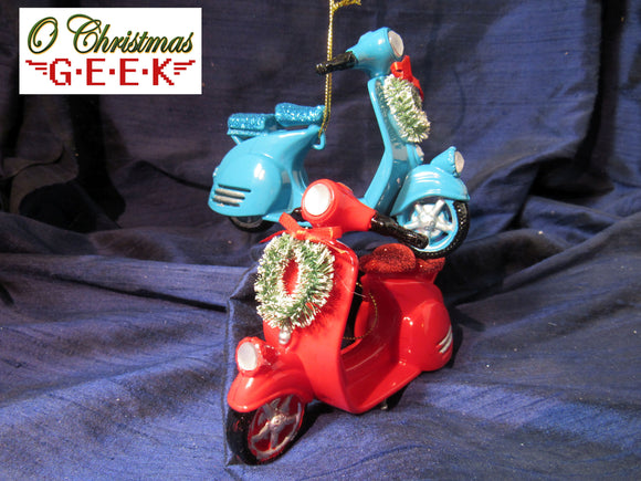 The Vespa From U.N.C.L.E. Ornament