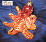 Glass and Resin Octopus