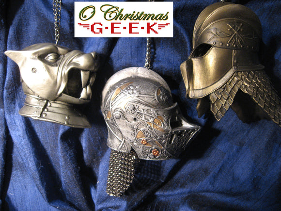 Game of Thrones Helmet Ornament