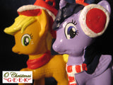 My Little Pony Applejack or Twilight Sparkle Ornament