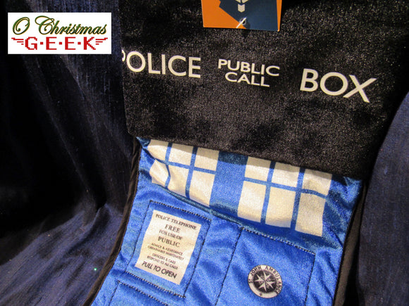 Doctor Who TARDIS Stocking