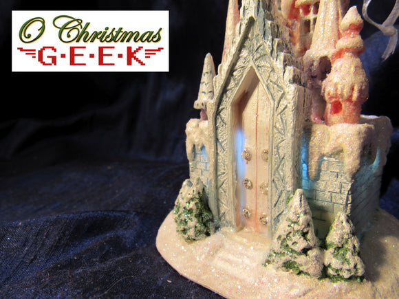 Light-Up Fairy Frost Castle