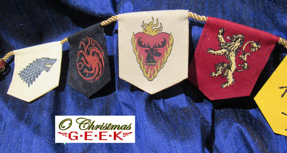 Game of Thrones House Sigil Garland