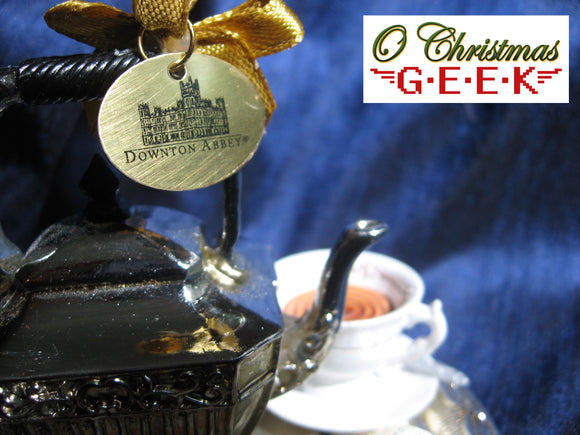Downton Abbey Tea Set Ornament