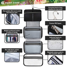 Load image into Gallery viewer, XL Hanging Toiletry Bag