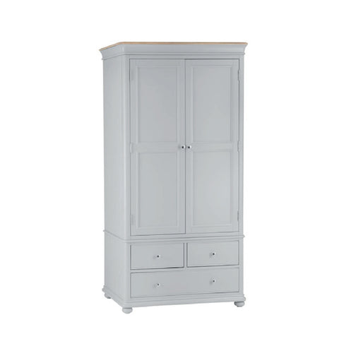Milan 2 Door 3 Drawer Wardrobe