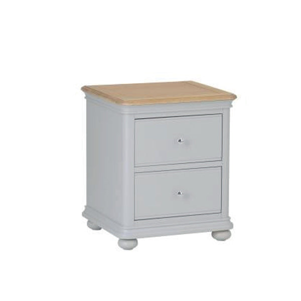 Milan 2 Drawer Bedside