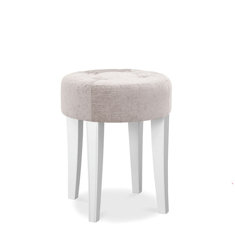 Mayfair White Stool