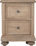 Hillford 2 Drawer Bedside