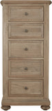 Hillford 5 Drawer Wellington Chest