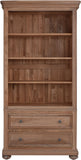 Hillford Bookcase with 2 Drawers