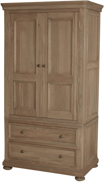 Hillford 2 Drawer Wardrobe