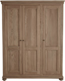 Hillford Full Length Triple Wardrobe