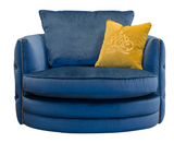 Roxy Chair in Plush Teal