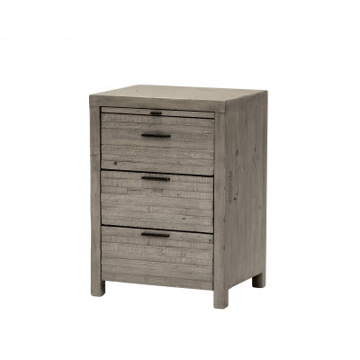 Como 3 Drawer Bedside