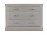 Fontaine 6 Drawer Wide Chest