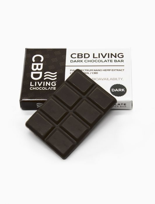 CBD Living Chocolate - Dark Chocolate or Milk Chocolate