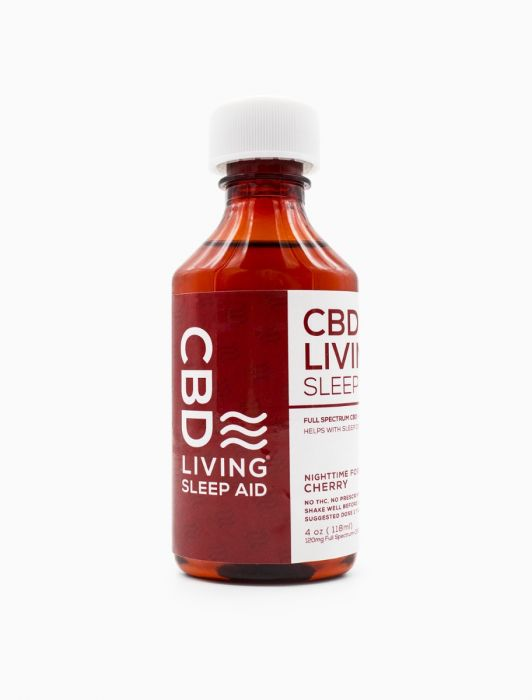 CBD Living Sleep Aid Syrup - Cherry or Grape