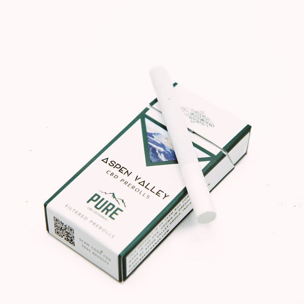 Aspen Valley - CBD Cigarettes – Pack of 20