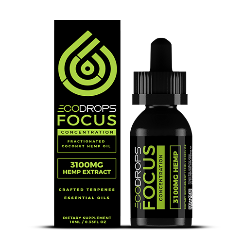 CBD Drip ECODrops Focus 10mL