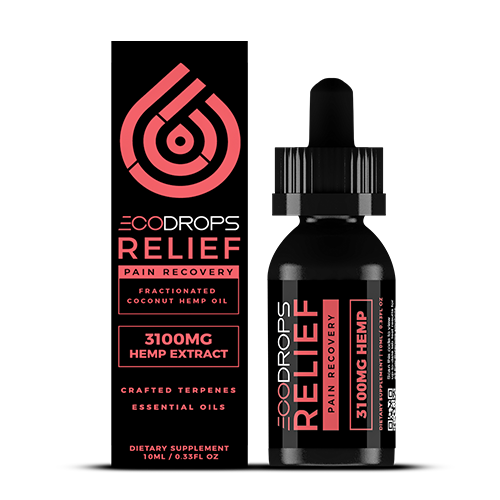 CBD Drip ECODrops Relief 30mL