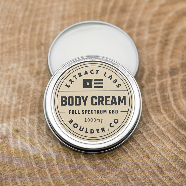 Extract Labs Body Cream 1000mg