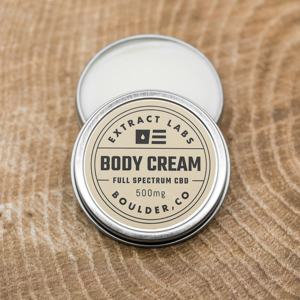 Extract Labs Body Cream 500mg