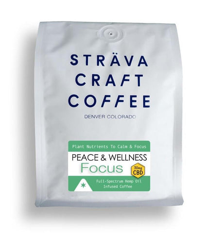 Sträva CBD Infused Coffee - Focus - 30mg per 12 oz. bag