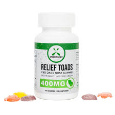 Green Roads CBD Relief Toads - 400mg