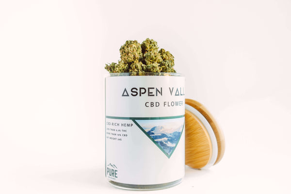 Aspen Valley CBD Hemp Flower – 7g